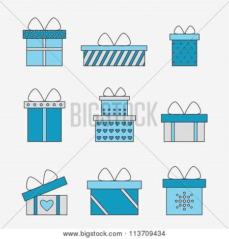 Presents set.