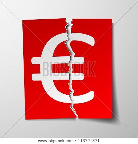 Euro Currency Symbol.