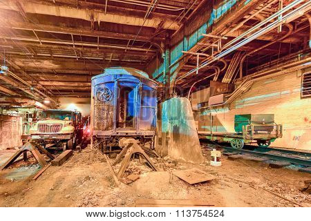 Fdr Train Car - Grand Central Station
