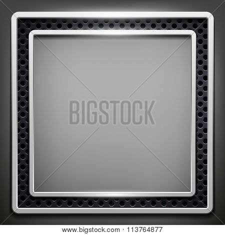 Square Frame. Stock Illustration.