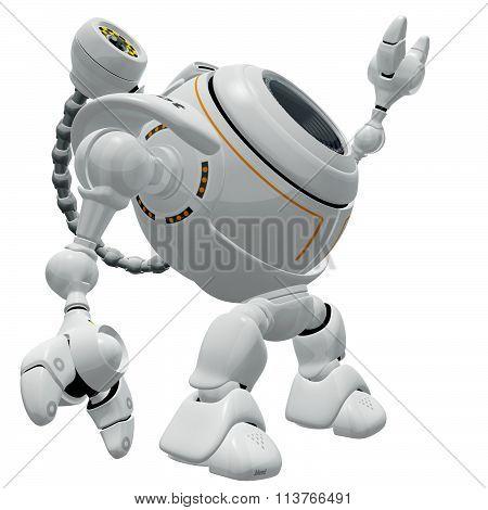 Robot Web Cam Reaching Up