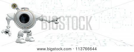 Robot Web Cam Technology Design