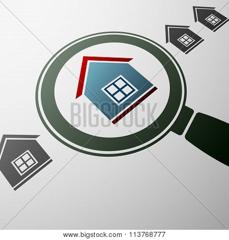 Real Estate. Stock Illustration.