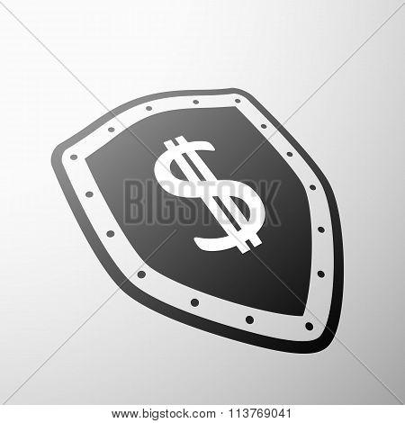 Dollar Symbol. Stock Illustration.