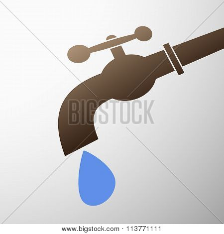 Tap With A Drop