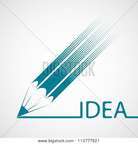 Logo Design. Stock Illustration.