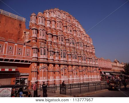 'Palace of The Winds' or Hawa Mahal, Jaipur, India