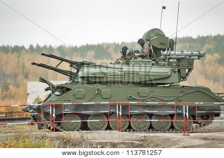Antiaircraft missile system ZSU-23-4M4 Shilka-M4