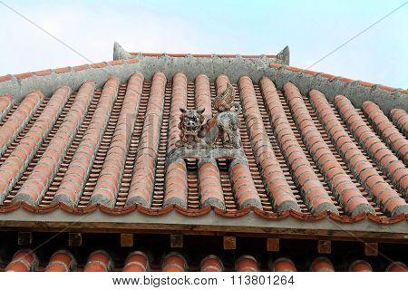 Shisa (guardian from Kingdom of Ryukyu) in Okinawa
