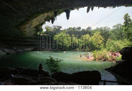 Hamilton Pool State Park Near Austin, Texas