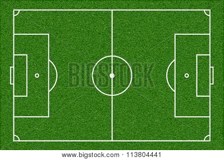 Football Playing Field.