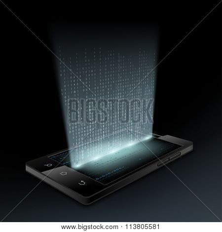 Smartphone. Technology Background.