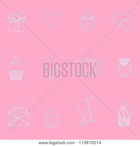 Valentine's Day Symbols