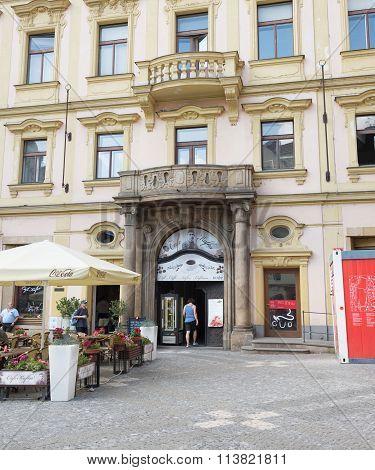 Kafka Cafè -prague - Czech Republic