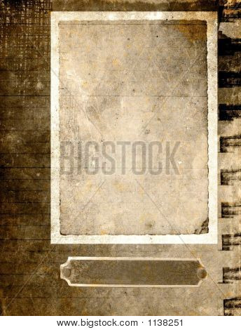 Grunge Card Background