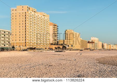 Beach and Oceanfront Hotels at Virginia Beach