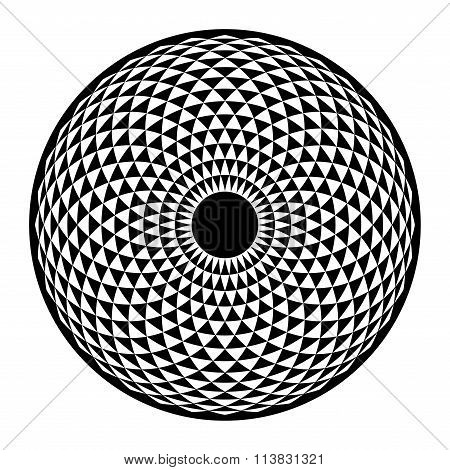 Torus Yantra, Hypnotic Eye Sacred Geometry Basic Element