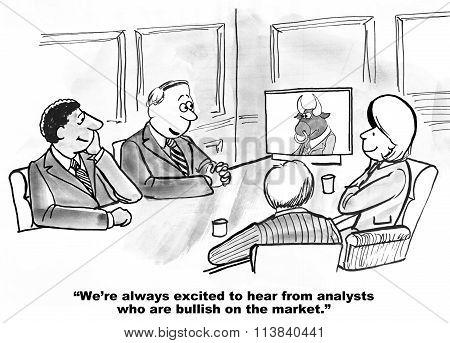 Bullish on Market