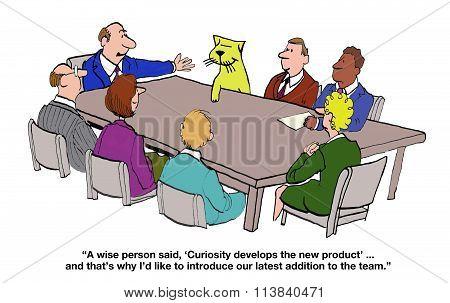 Curiosity Creates the New Product