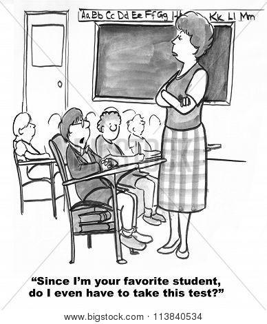 Favorite Student