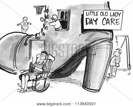 Little Old Lady Day Care