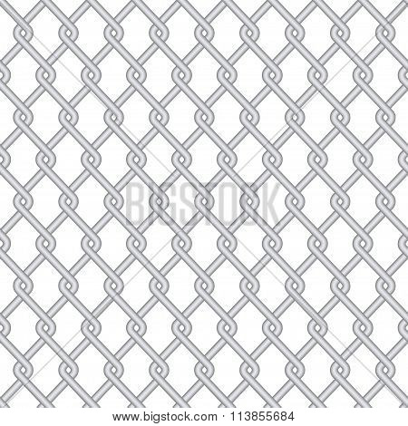 Vector modern wire fence background