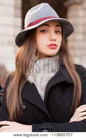 Winter Fashion Beauty.