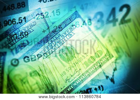 Currency Trading Concept