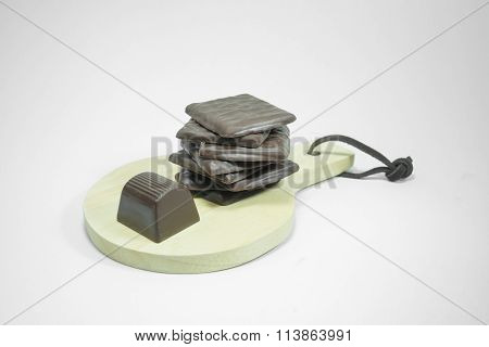 Group Of Gourmet Chocolate Pieces