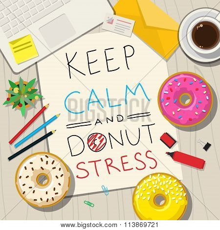 Funny phrases about stress.