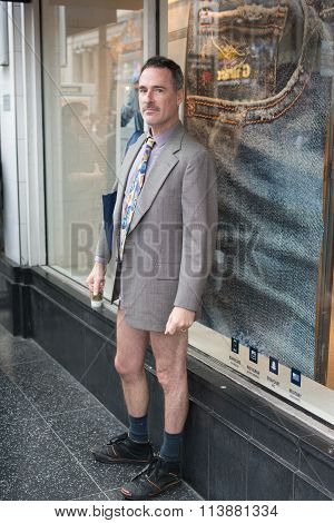Men In Hollywood Without Pants