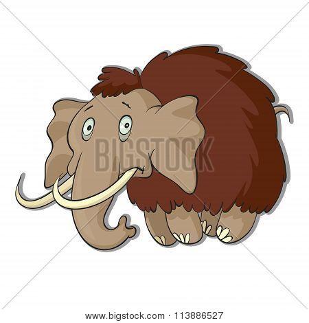 Vector Illustration Of Mammoth