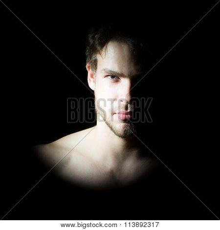 Macho Man Portrait