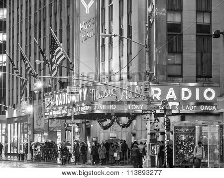 The Old Radio City Music Hall