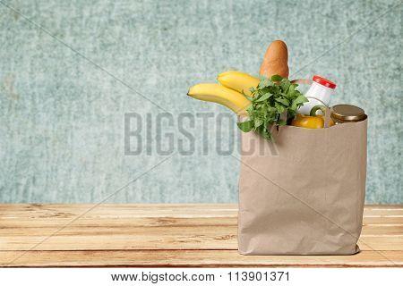 Groceries Paper Bag.
