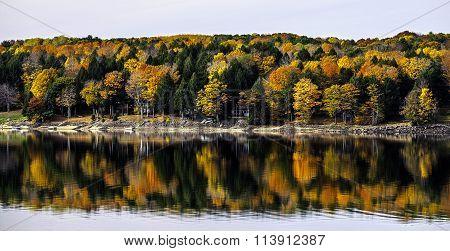 Sacandaga Reservoir At Batchellervile