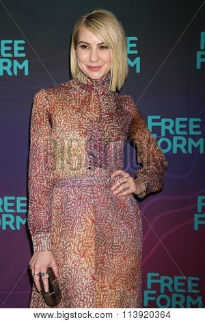 LOS ANGELES - JAN 9:  Chelsea Kane at the Disney ABC TV 2016 TCA Party at the The Langham Huntington Hotel on January 9, 2016 in Pasadena, CA