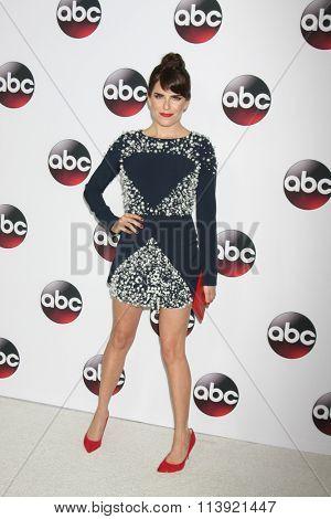 LOS ANGELES - JAN 9:  Karla Souza at the Disney ABC TV 2016 TCA Party at the The Langham Huntington Hotel on January 9, 2016 in Pasadena, CA