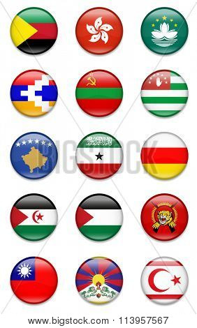 Other Countries ( Unrecognized ) Flag Collection