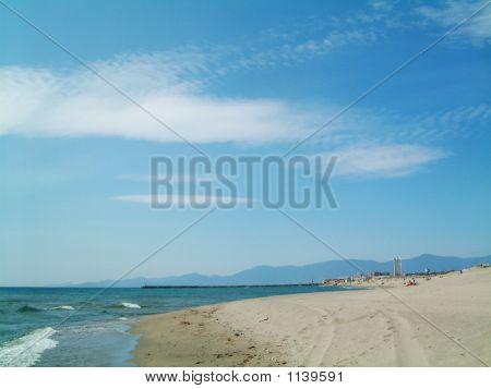 Beach At Canet