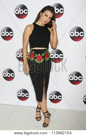 LOS ANGELES - JAN 9:  Ming-Na Wen at the Disney ABC TV 2016 TCA Party at the The Langham Huntington Hotel on January 9, 2016 in Pasadena, CA