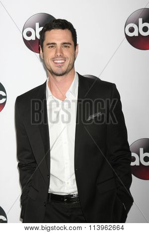 LOS ANGELES - JAN 9:  Ben Higgins at the Disney ABC TV 2016 TCA Party at the The Langham Huntington Hotel on January 9, 2016 in Pasadena, CA