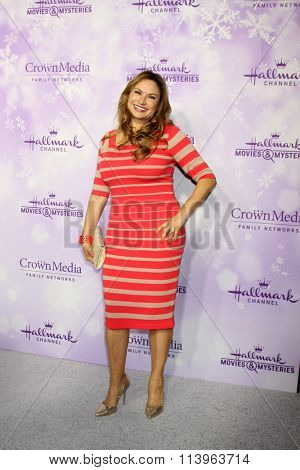LOS ANGELES - JAN 8:  Shirley Bovshow at the Hallmark Winter 2016 TCA Party at the Tournament House on January 8, 2016 in Pasadena, CA