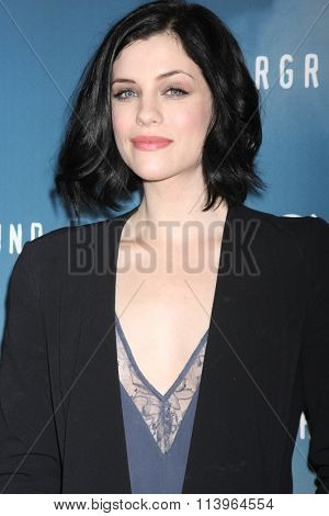 LOS ANGELES - JAN 8:  Jessica de Gouw at the Underground WGN Winter 2016 TCA Photo Call at the The Langham Huntington Hotel on January 8, 2016 in Pasadena, CA