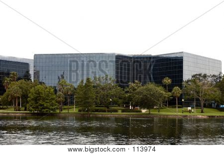 Glass Office Building