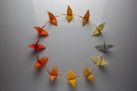 Origami cycle