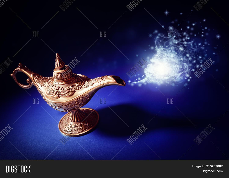 Magic Lamp Story Image & Photo (Free Trial) | Bigstock