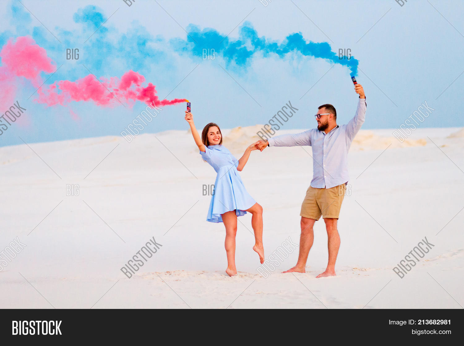 Young Couple Standing Image & Photo (Free Trial) | Bigstock