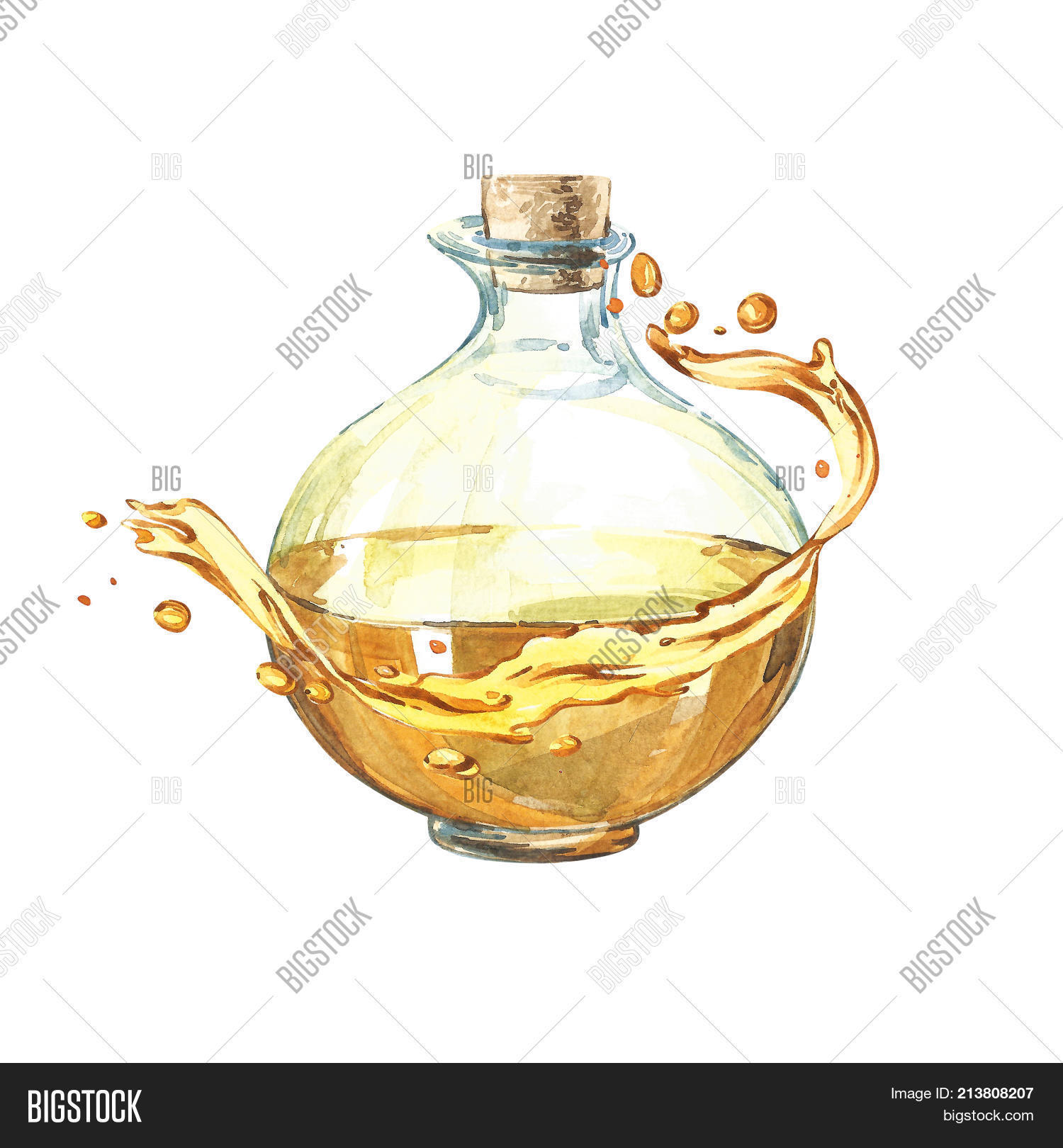 Bottle Olive Oil Image Photo Free Trial Bigstock