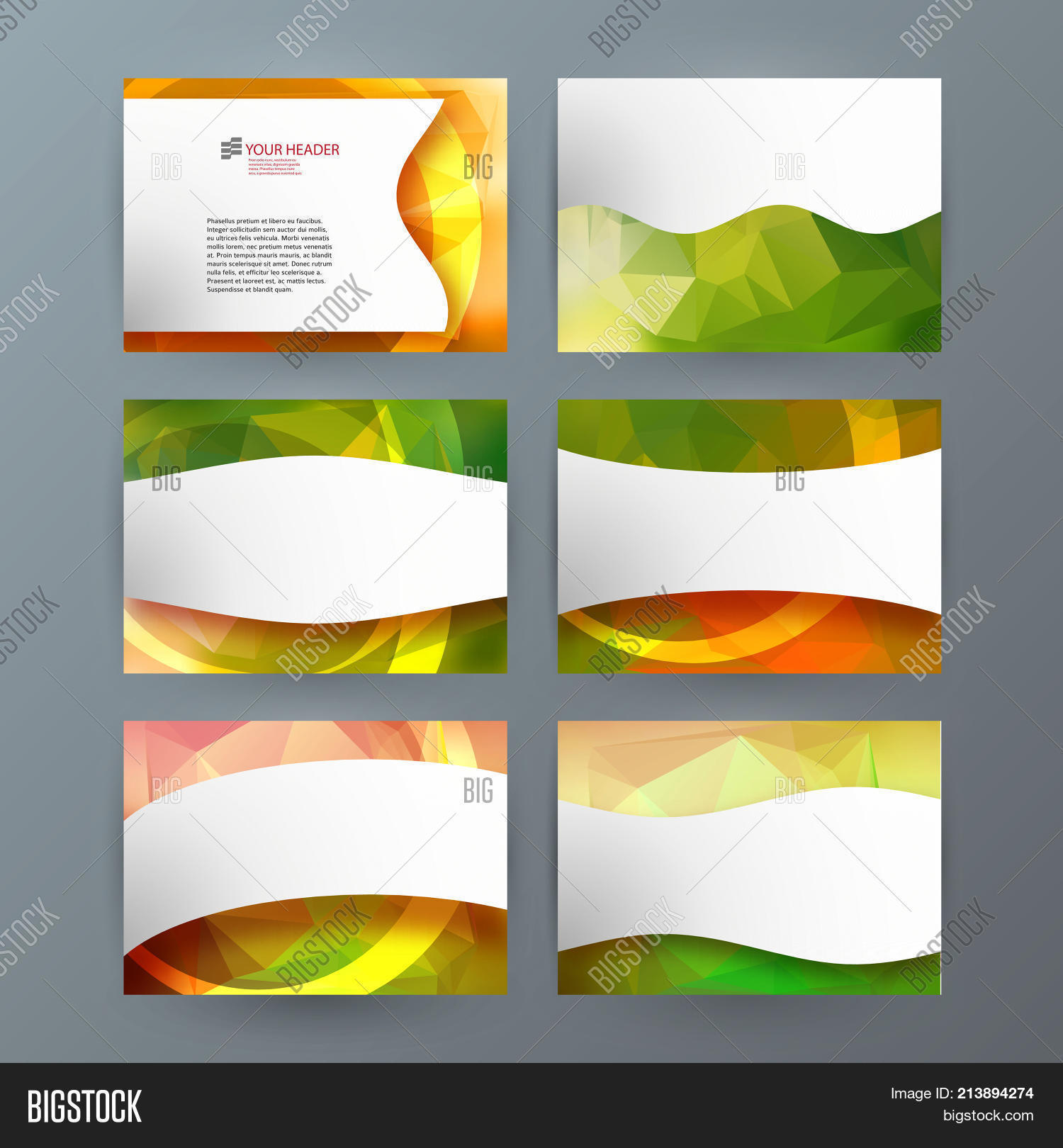 Businness Card Vector Photo Free Trial Bigstock